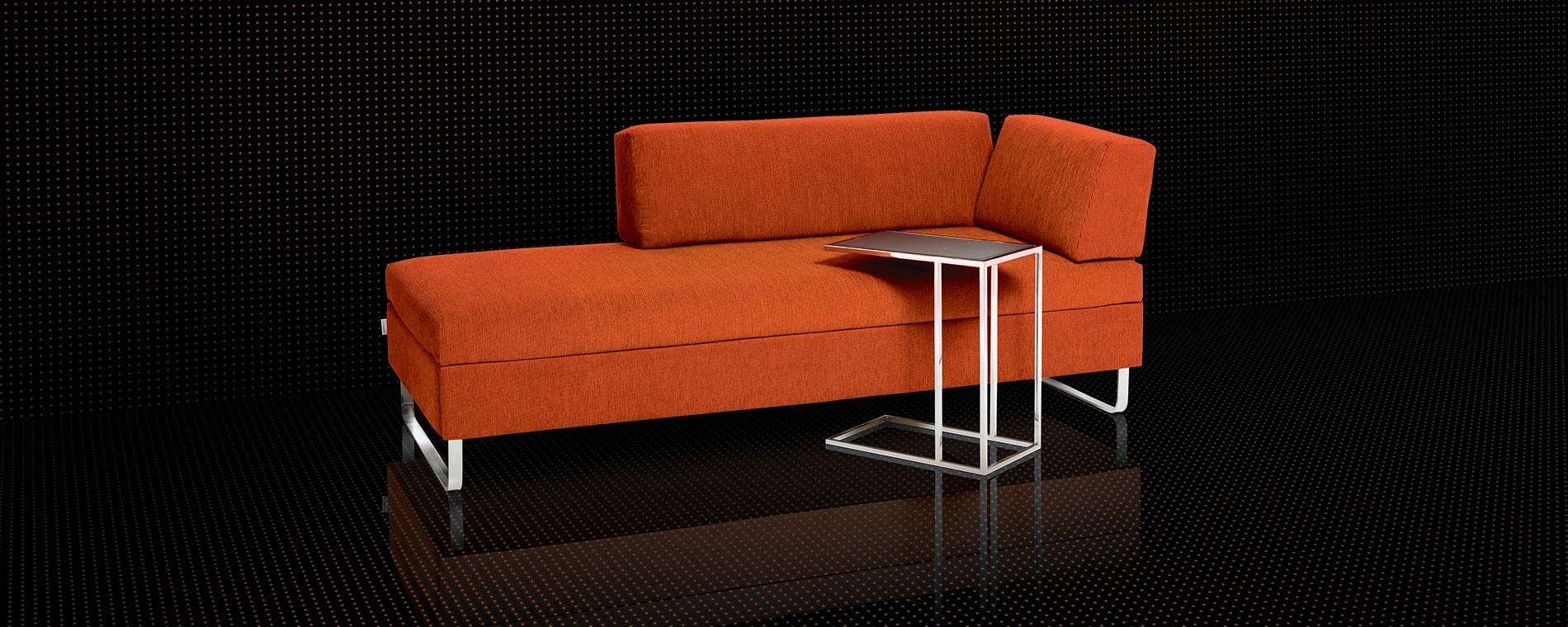 Doppelbett & Sofa kombiniert in Doppio von Swiss Plus