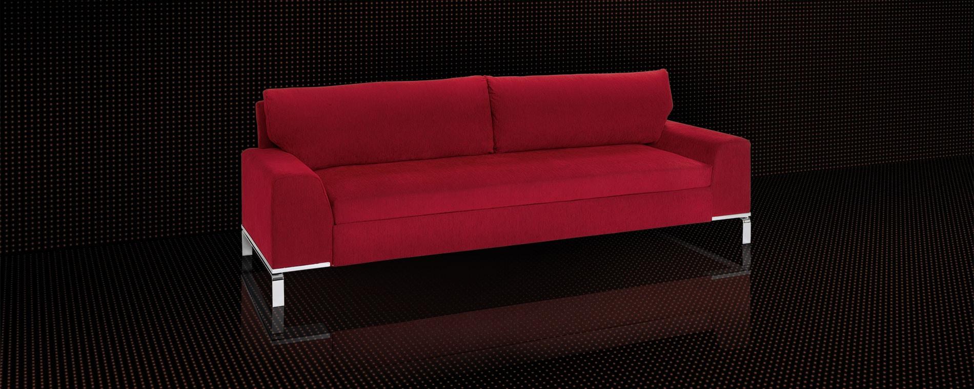 Sofabett & Dreier Sofa Divan von Swiss Plus