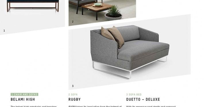 Duetto Deluxe Schlafsofa Designpreis