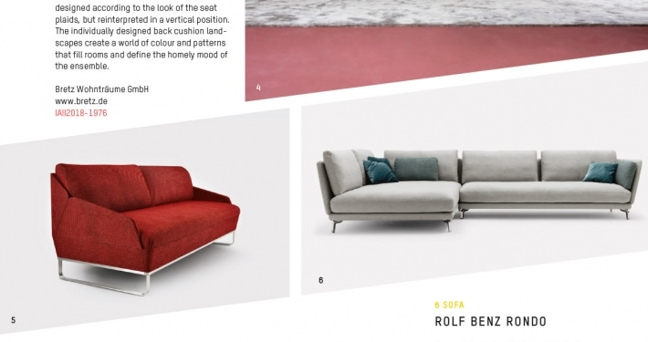 Bed for Living Deluxe Schlafsofa gewinnt Iconic Award